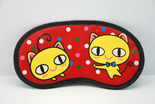 Sleep Masks eye mask Lovely proud funny sleeping cat AB67