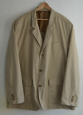 RALPH LAUREN Polo khaki brown Chino blazer suit jacket 4X BIG 4XL 4XB XXXXL