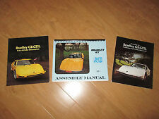 Bradley GT Assembly Manual (8 1/2 x 11) and 2 color Brochures - VW based Kit Car