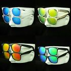 2 pair lot sunglasses pack new mirror retro vintage wayfarer style men women