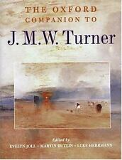 The Oxford Companion to J. M. W. Turner (Oxford Companions)-ExLibrary