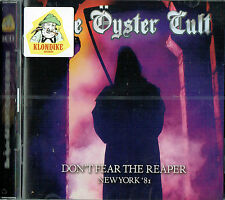 BLUE OYSTER CULT - Dont fear the reaper (Double cd)(New York '81 / New & sealed)