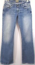 BKE Buckle STARLITE STRETCH Jeans Size 28 x 33 1/2 Distressed Stretch Denim