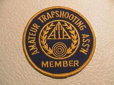 ATA AMATEUR TRAPSHOOTING ASSOCIATION BIRD CLAY TARGET GUN HUNTING PATCH NEW
