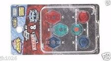 TAKARA TOMY Beyblade WBBA Limited Parts Bottom RF+WF+SF Tip Track 6 PCS ATTACK