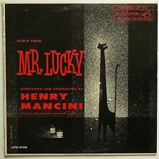 "HENRY MANCINI - Mr. Lucky. 1960 12"" SLEEVE ONLY! Lounge / Easy for pic. framing!"