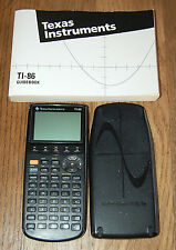 Texas Instruments TI-86 Graphing Calculator w/ Guidebook - PLEASE READ!