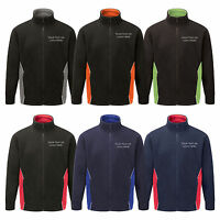 Personalised Embroidered Silverstone Fleece Text or Logo Custom Printed