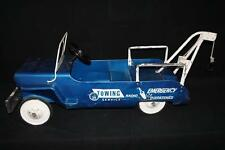 Emergency Radio Dispatched Towing Service Jeep Pedal Car Tow Truck Lot 104A