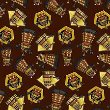 "1 Yard Springs Doctor Who ""Exterminate""  Fabric"