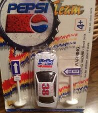 Pepsi Cola Team Racer Golden Wheels Car Peter Comlia 38 Die Cast , DIET PESPI
