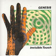 CD GENESIS INVISIBLE TOUCH (C) Giappone Toshiba Limited
