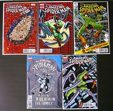 5x AMAZING SPIDERMAN 700 VARIANT 1ST,2ND,3RD,4TH,5TH PRINT!STAN LEE, DITKO!