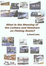 What is the Meaning of the Letters and Numbers on Fishing Boats?, Lenton, Stewar