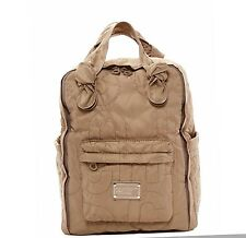 New Marc by Marc Jacobs Pretty Quilted Nylon Knapsack Cement $198