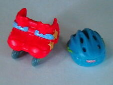 FISHER PRICE LOVING FAMILY DOLLHOUSE ROLLERBLADES + HELMET FOR BROTHER SISTER