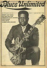 BLUES UNLIMITED No 107 Mighty Joe Young Pee Wee Crayton Little Boyd 1974