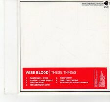 (FT423) Wise Blood, These Things - 2011 DJ CD