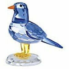 Crystal Blue Bird of Happiness Collectible Christmas Holiday Figurine