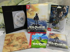The Legend of ZELDA Breath of the Wild SWITCH COLLECTOR'S EDITION Japan Amiibo