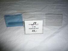 30x Verkaufsschilder Plexiglas Einschub blau/durchsichtig Sonderposten