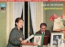 MARIA CALLAS  GIUSEPPE DI STEFANO disco LP Appassionatamente LA VOCE del padrone