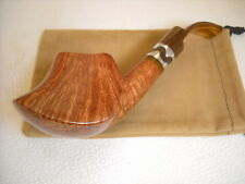 PIPE MARIO GRANDI BRIAR LARGE FIAMMATA WEIGHT 106gr. VOLCANO FREE HAND NEW PIPES
