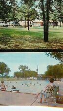 c1960s Lucas Triple L Mobile Home Trailer Park, Arlington, Texas Postcard