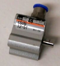 SMC CQ2B-12-5T BAR 10 PNEUMATIC AIR CYLINDER