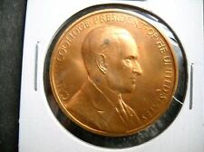 Calvin Coolidge U.S. Mint Commemorative Presidential Inaugural Coin Medal