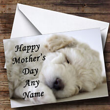 Bichon Frise Personalised Mother's Day Greetings Card