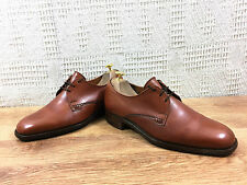 Trickers Men's Deep Tan Leather Minor use Derby Shoes UK 7.5  US 8.5  EU 41.5