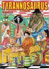 ONE PIECE Color Walk 7 Tyrannosaurus  *** ARTBOOK * neu