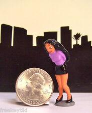 1 RARE Lil Homies Series # 5 Mija Muchacha Girl Old School Chola Figure Figurine
