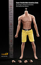 "12"" Figure Phicen PL2016-M32 1/6 Asia Male Seamless Muscle Super Flexible Body"