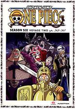 One Piece: Season Six - Voyage Two (DVD, 2014, 2-Disc Set)