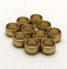 NEW 35mm compression Brass olives pack of 10, plumbing, DIY, water, UK seller