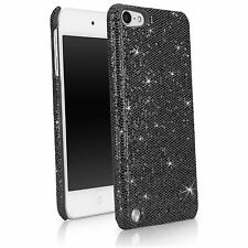 BoxWave iPod Touch 5 Sparkly Case, Snap On Glitter Hard Shell (Black Pearl)