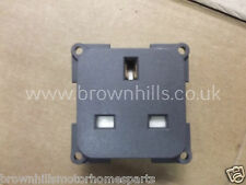 MOTORHOME & CARAVAN MARINE CBE MP22B/G 240v 3-PIN UK SOCKET GREY