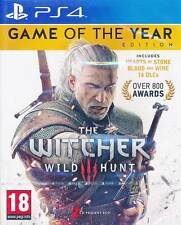 The Witcher 3 III Wild Hunt Game of the Year Complete Edition PS4 Game NEW