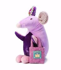 Ragtales Fairy Tales Tooth Fairy Doll Purple Mouse Pom Pom Coin Pocket 314 New