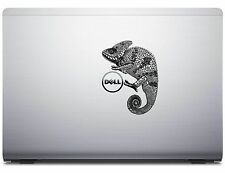 Zentangle stylized Chameleon Reptile apple pro Decal Sticker Dell Laptop Graphic