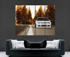 NISSAN 240SX POSTER CAR SUNSET FAST CARS SPEED RETRO WALL PRINT HUGE
