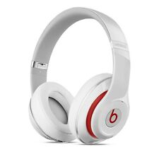 2016 Beats BY DRE Studio 2.0 Bluetooth Wireless Cuffie Bianco Nuovo di Zecca