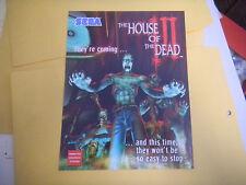 HOUSE OF THE DEAD  3 III   ARCADE   GAME  FLYER