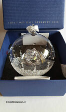 Swarovski Crystal, Christmas Ball Ornament, Annual Edition 2016. Art No 5221221
