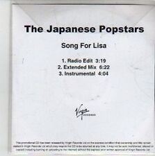 (CG790) The Japanese Popstars, Song for Lisa - 2011 DJ CD
