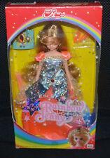 Takara Jenny VINTAGE 1986 Princess Sparkling RAINBOW Doll w/ Tiara - VERY RARE