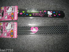 LOT OF 2 HELLO KITTY SLAP BAND BRACELETS PARTY FAVORS I SHIP EVERYDAY STYLE 2