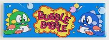 Bubble Bobble Marquee FRIDGE MAGNET (1.5 x 4.5 inches) arcade video game header